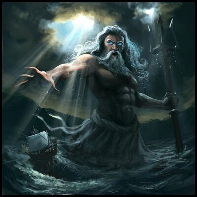 Poseidon greek god