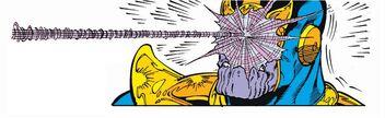 Spidey v Thanos
