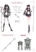 Sailor Pluto Concept Art