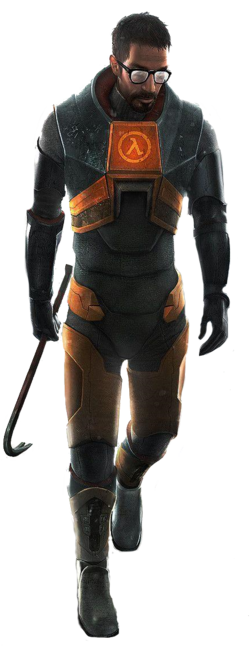 Gordon freeman render