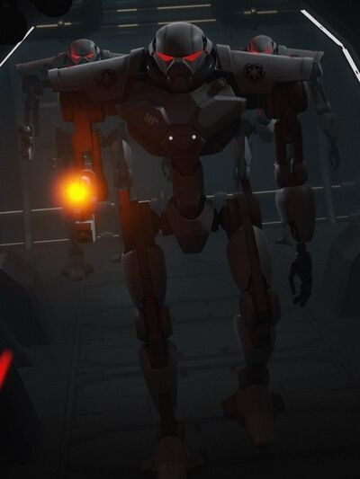 Imperial Sentry Droid 01