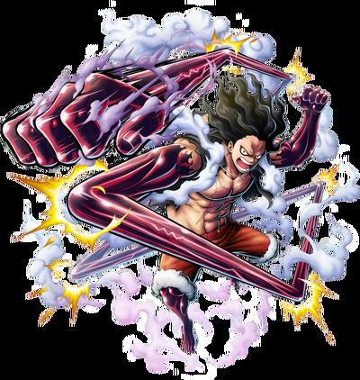 Snakeman Luffy render