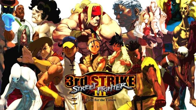 Street fighter 3rd strike by maximusxub-d2yvjqu