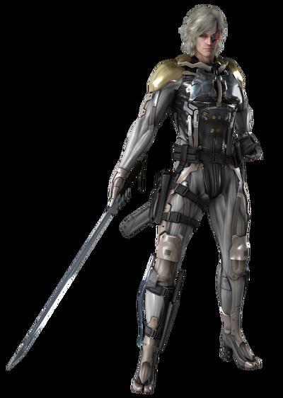 Metal gear rising revengence raiden render by rajivmessi-d7esdwn