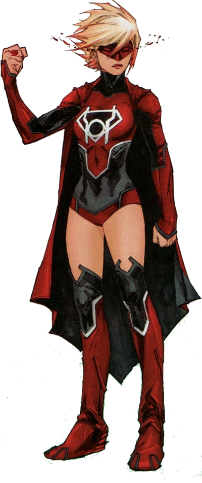New 52 Supergirl Rebirth Red Lantern