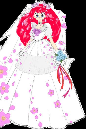 Wedding Peach Bride (Manga) Render