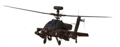 AH-64 Apache rotorcraft HERO