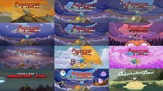 """All Intros (from """"Pilot"""" to """"Come Along With Me"""") • Adventure Time Evolution • Adventure Time HD-0"""