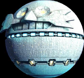 Death Egg render