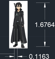 Kirito height