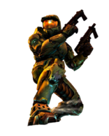 Halo 2 Master Chief (Render)