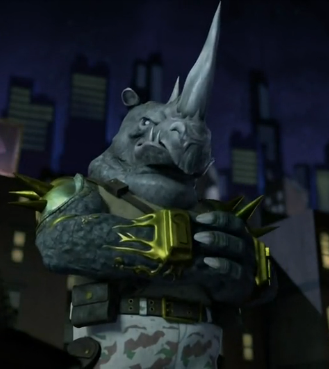 Rocksteady cracking knuckles