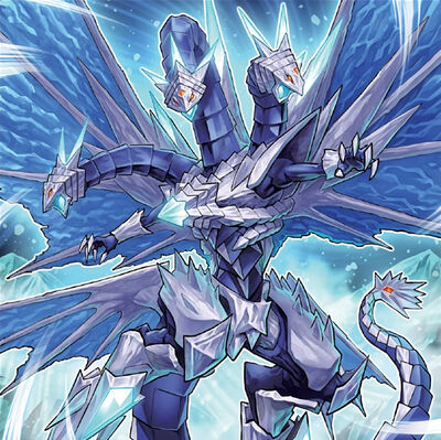 Trishula the dragon of icy imprisonment art v2 by alanmac95 dcu23og-pre