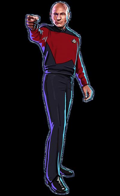 Enterprise-D Picard