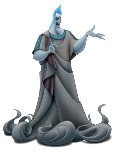 Hades Disney transparent
