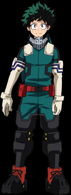 Izuku Midoriya Costume Gamma