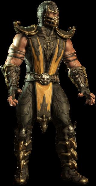 Scorpion wraith