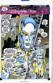 Silver Surfer and Doombot 1