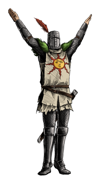 Dark souls solaire by menaslg