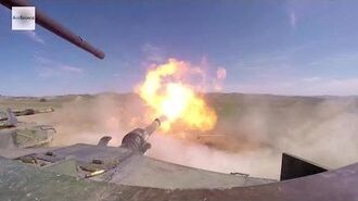 Ultra Powerful M1 Abrams 120mm Smoothbore Cannon in Action