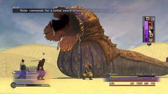 FINAL FANTASY X X-2 HD Remaster Auron hits a Homerun