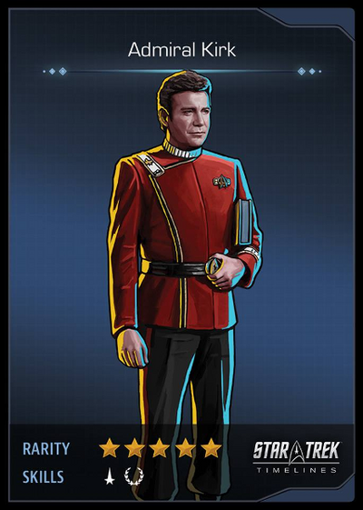Admiral Kirk Card