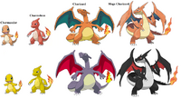 Charizard evolutions by skilarbabcock-d6madr8