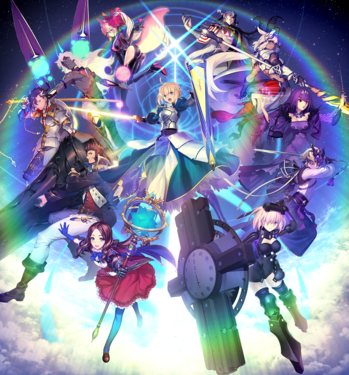 Fate Grand Order Part 2 Poster