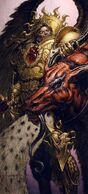 Primarch Sanguinius Daemon Head Claim