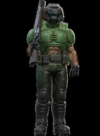 doom guy classic armor