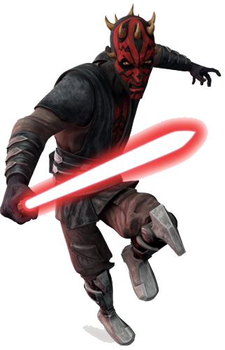 Clone Wars Darth Maul render
