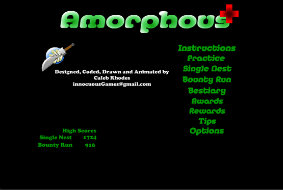 Amorphous game