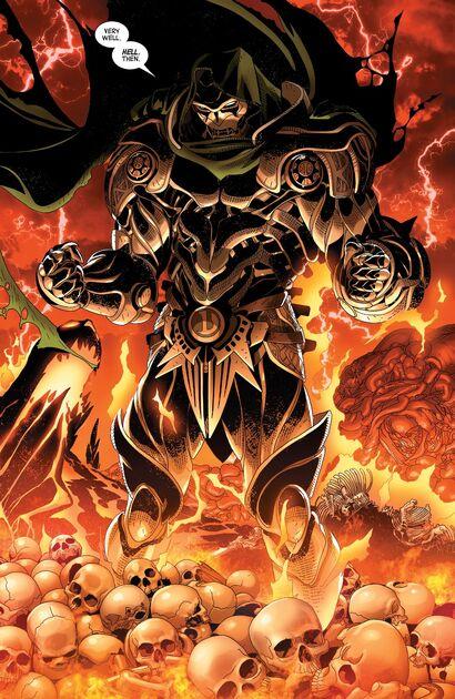 Dr Doom in hell-2019 Doctor Doom comics