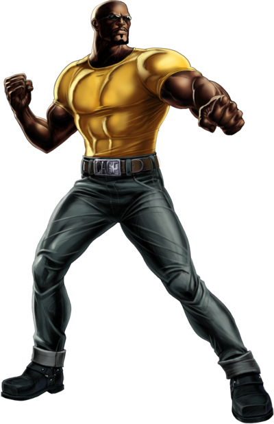 Luke Cage Portrait Art