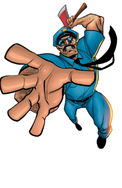-Fixed- Axe Cop without Ralph Wrinkles (Render)
