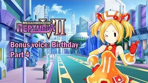 Eng sub Megadimension Neptunia VII - Bonus Voice Birthday, Part 4 (Visualized)