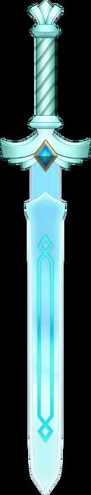 SS Goddess White Sword by blueamnesiac
