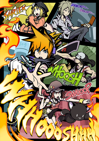 The World Ends With You Key Art -2