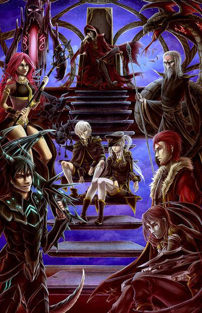 Black Mage Commanders