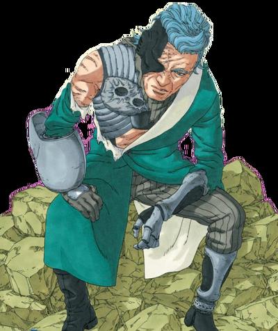 Boruto Cyborg Ao (Render)