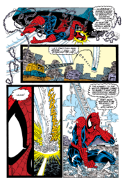 Captain Universe Spidey turns crane into glass