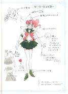 Sailor Jupiter Concept art