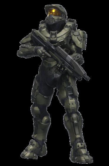Halo H5G Chief (Render)