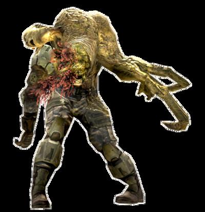 Human Infected Render