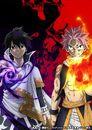 Natsu vs Zeref Anime Visual