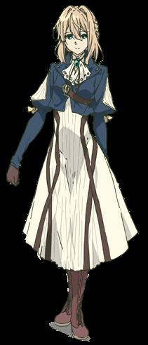 Violet Anime Design