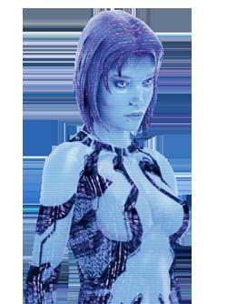 Halo 3 Cortana (Render)