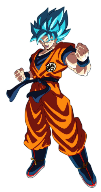 Goku ssj blue dragon ball super broly by andrewdb13 dcld1kk-fullview