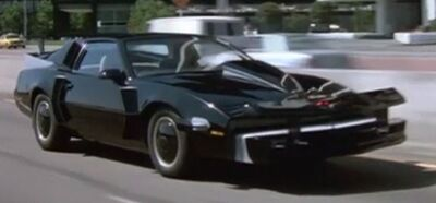 KITT Super Pursuit Mode