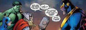 Thanos is weird